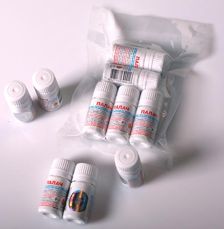 Из этого препарата можно приготовить 5 литров рабочего раствора.